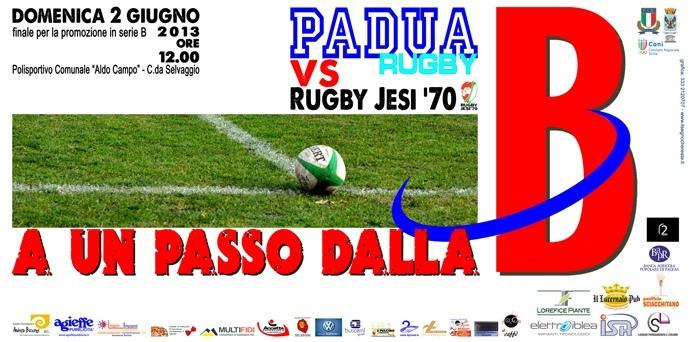 Padua Rugby: Condannati a Vincere. Per la serie B unico obiettivo la vittoria